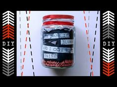 |-/ DIY TWENTY ONE PILOTS JAR |-/ - THIS IS SO COOL. This is actually sick. This girl is so creative and thoughtful when making this