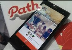 Path launched an app for Windows Phones