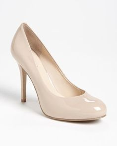 Nine West Maximus Patent Pump in Nude - $27