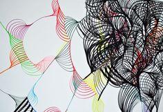 Andrea Maack Coal drawing.