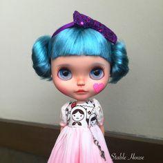:::::ON HOLD:::::: Please do not Buy!! Custom Blythe Art Doll By StableHouse