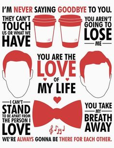 I ship KLAINE! I CAN'T NOT. AND NEITHER CAN YOU IF YOU KNOW THEM!