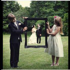 Foto casamento moldura