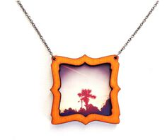 Wear your instagram photos around your neck! - would be cute tied to the outside of a gift.