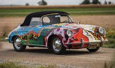 "Janis Joplin's 1968 Porsche 356 SC Cabriolet ""The History Of The Universe"""