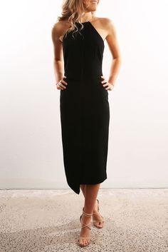 Clockwork Dress Black | Women's | Jean Jail | Clothes Online | Shoes | Womens Fashion | Mens Fashion