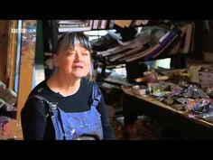 """They had me at """"......one of Wales's leading artists. She lives and works in a renovated 17th-century house and barn.... (Shani Rhys James - What Do Artists Do All Day ? - YouTube)"""