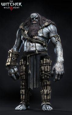ArtStation - The Witcher III - Ice Giant, Marcin Blaszczak