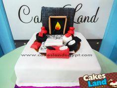 interior designer cake