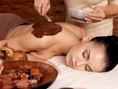 Massaggio al cioccolato www.centribenessereofferte.it