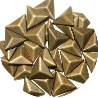 3D Triangle Shape Stick-On Studs