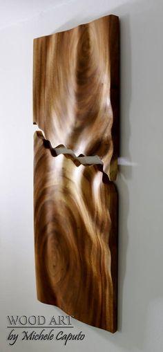 Título: Complemento Técnica: Tallado en alto relieve sobre madera de campano. Dimensiones: 88 cm. de alto por 35 cm de ancho. $ 1.300.000 Pesos. Barranquillla. Colombia. Wood Art, Wood, Colombia, Wooden Art