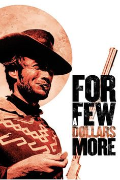 For a few dollars more poster, 1965