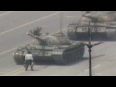 1989 Raw Video: Man vs. Chinese tank Tiananmen square