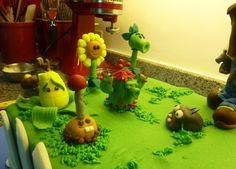 Plants v. Zombies Cake