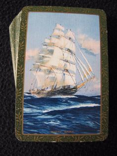 """VINTAGE 1930's GOODALL PACK DECK OF PLAYING CARDS - """"CUTTY SARK""""  