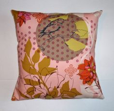 Throw Pillow Cover Bird & Floral Throw Pillow by Persnickety Home -   In hopes and honor of an early spring, I'm currently running a Spring SALE - Just use coupon code SPRINGCLEAN17 at checkout to take 17% off your total! =]