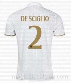 #2 Maglia AC Milan DE SCIGLIO Gara Away 16/17