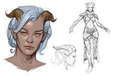 character concept art female - Поиск в Google