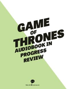 game of thrones audiobook size