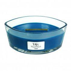 WoodWick Hearthwick Candle - Denim