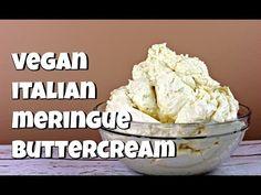 Cream of Tartar Vegan Buttercream Frosting, Italian Buttercream, Italian Meringue, Frosting Recipes, Cake Recipes, Icing, Aquafaba Recipes, Vegan Cupcakes, Vegan Cake