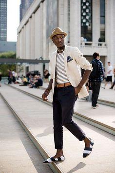Best Stripe Espadrilles http://www.99wtf.net/young-style/urban-style/mens-denim-shirt-urban-fashion-2016/