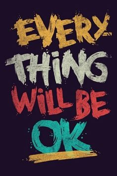 Every thing will be #OK...