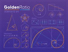Golden Ratio - - Effective Pictures We Offer You About Sacred Architecture cathedrals A quality picture can tell you many things. You can find the most beautiful pictures that can be presented to you about Sacred Architecture insp Graphisches Design, Graphic Design Tips, Graphic Design Inspiration, Logo Design, Fibonacci Golden Ratio, Fibonacci Spiral, Sacred Geometry Symbols, Geometry Art, Geometry Tattoo
