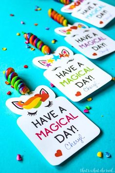 Free Printable Unicorn Valentine Cards