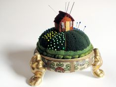 I want this!!! #felt #miniature #craft