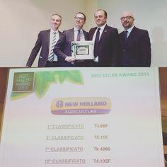 Il Best Seller Award #Fieragricola | 1º @newhollandag T4.95F