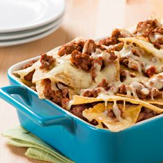 Lasagna Nachos - Create the tastiest Lasagna Nachos, Tostitos® own Lasagna Nachos Recipe with step-by-step instructions. Make the best Lasagna Nachos for any occasion.