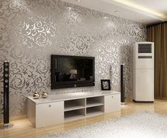 Avangard Salon Lüks İthal Duvar Kağıdı Modelleri | 2015