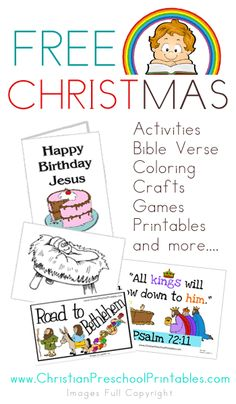 Christmas Bible Printables