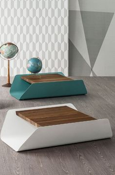 BEND Low rectangular coffee table by /bonaldo/ #design Mauro Lipparini
