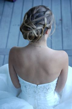 Hair, Updo, Jmk hair design - pretty!