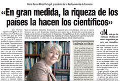 María Teresa Miras. Presidenta Comisión de Expertos para la reforma del sistema universitario español . #Universidad
