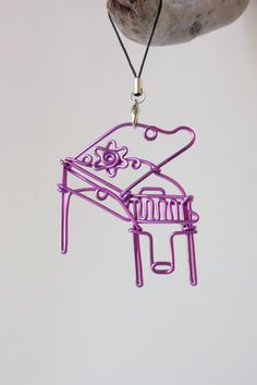 Personalized Handmade Piano Ornament/Charm