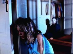 top 5 final girls of horror Laurie Strode by Jamie Lee Curtis in John Carpenter's Halloween Scary Movie Characters, Scary Movies, Horror Movies, Michael Myers, Little Girl Hairstyles, Cool Hairstyles, Halloween Movies, Halloween Queen, Family Halloween