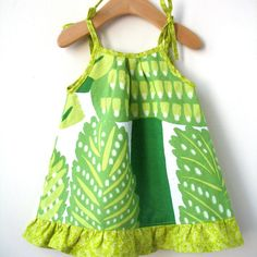 Baby Dress Size 6 Month in Marimekko Cotton by ThumbandPinky