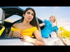 Car ride with belle cinderella elsa snow white and jasmine