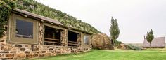 Our readers share their best holidays: 12 remote, off-the-grid places to stay across South Africa. Off The Grid, Take A Break, South Africa, Travel Destinations, Remote, Mountain, Cabin, House Styles, Places