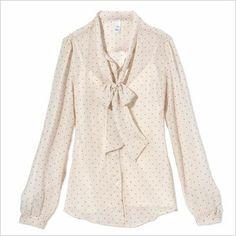 Polyester chiffon blouse