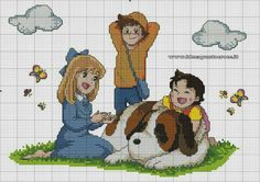 Heidi Fantasy Cross Stitch, Cross Stitch Fairy, Cross Stitch For Kids, Cross Stitch Borders, Cross Stitching, Disney Cross Stitch Patterns, Cross Patterns, Counted Cross Stitch Patterns, Cross Stitch Charts