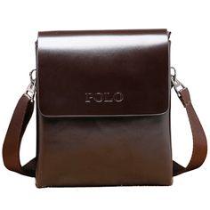 2016 새로운 남성 가죽 가방 패션 브랜드 남성 메신저 가방 품질 작은 여행 크로스 바디 핸드백 남자 XB113