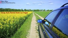 Get ready for an adventure! Explore the city and scenic drive of Fabulous Las Vegas in your rental. Best Way offers Cheap Auto Rental Deals in Las Vegas.