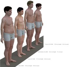 The Average American Man Is Too Big For His Britches : NPR
