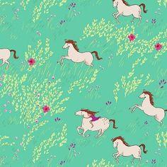 Sarah Jane - Wee Wander - Summer Ride in Seafoam