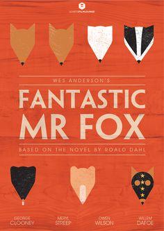 sparklesandpretending:    lcartsfilmlounge:LCArts Film Lounge presents Fantastic Mr Fox poster.
